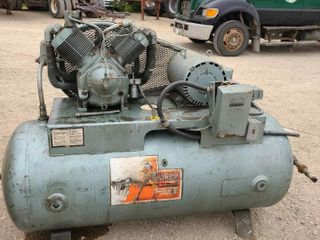 Pacemaker 10 HP HD Horizontal Air Compressor 3ph