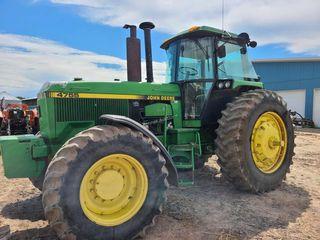 1992 John Deere 4755 FWA Tractor, 3pt,Duals
