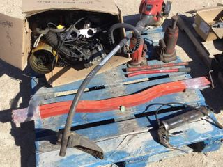Weed Trimmer,Sled Trailer Hold Downs, Hyd Jacks