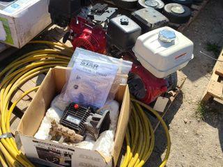 (2) Honda GX390 Engines,Pressure Washer Pump,PW