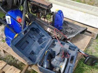 (2) Pressure Washers, Drill Press, Trolling Motor