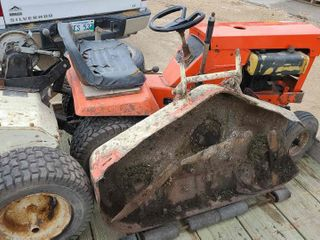 Allis Chalmers Garden Tractor, Tiller, Mower
