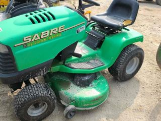 Sabre by John Deere Riding Mower