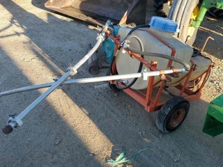 Pull Type 12V Yard Sprayer