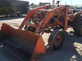 1966 Allis-Chalmers D14 w/ Loader Tractor