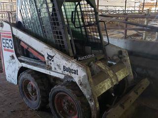 Bobcat 553 Skid Steer Loader