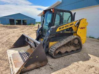 2016 New Holland 227C Skid Steer, Tracks