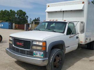 1998 GMC 3500 Box Truck