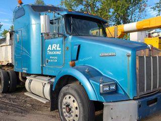 2001 Kenworth T-800 Dump Truck