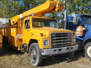 1986 International S1900 F1954 Bucket Truck