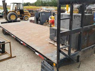 24ft Flat Deck Truck Deck