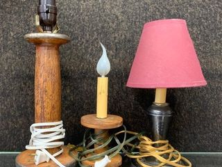 Group of Old lamps