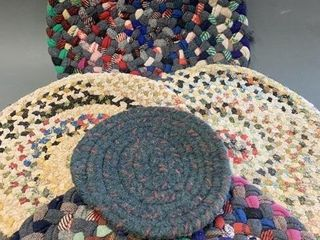 lot of Early Braided Place Mats