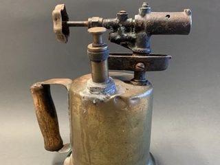Old Brass Blow Torch
