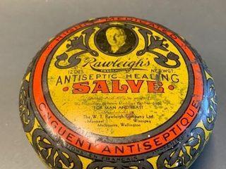 Raleigh s Antiseptic Salve Tin