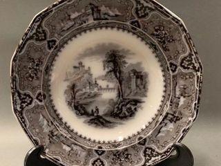 Antique Flow Mulberry Bowl