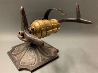Crown Cast Iron Piano lamp