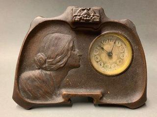 Retro Gibson Girl Clock