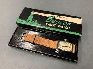 Ingraham Beacon Watch  New In Box