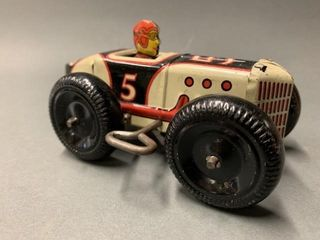 Early Marx Race Car Wind Up