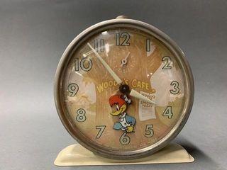Woody Woodpecker alarm clock   working