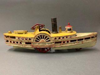 Cast Iron New York steamboat