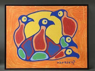 Original Norval Morrisseau  1932 2007