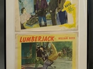 Framed 1940 s Movie Posters