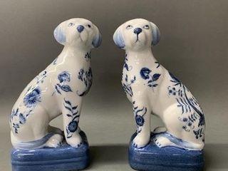 Antique Dog Figurines