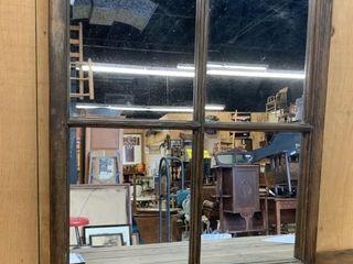 Antique 4 Pane Window Mirror