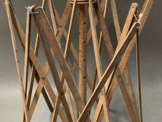Early Wooden Folding Dryer