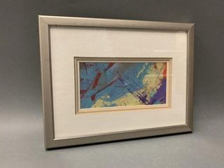 Modern Abstract Art Framed Print