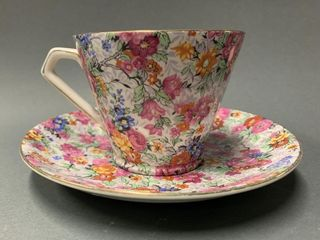 lord Nelsonware Chintz Tea Cup and Saucer