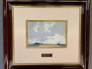 J E H  MacDonald Master Edition Cloudy Sky
