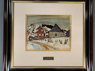 A Y Jackson Master Edition Winter Village