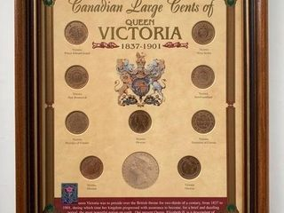 Canadian large Cent Collection 1837 1901