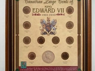 Canadian large Cent Collection 1901 1910