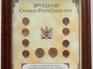 20th Century Canadian Penny Presentation Collectio