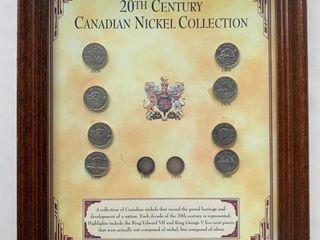 20th Century Canadian Nickel Presentation Collecti