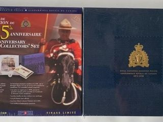 3  Sets Canada RCMP 125th Year Anniversary