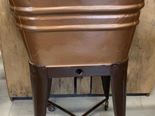 Antique Washing Machine Tub on Stand