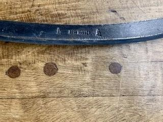 Very Early Forged Spoke Shave Draw Knife