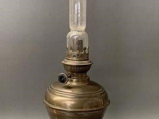 Rare Kaestner   Toebelmann German Oil lamp