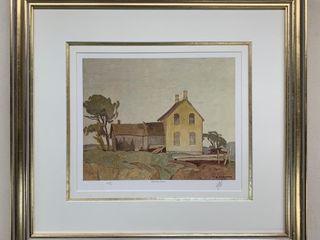 A J Casson Artist Proof 49 60 Old Farm House