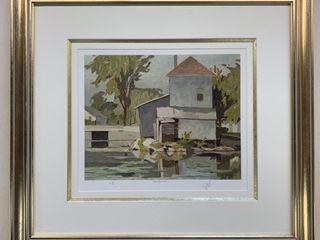A J Casson Artist Proof 49 60 lake Clarendon