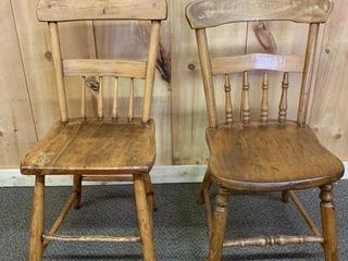 Group of Primitive Chairs