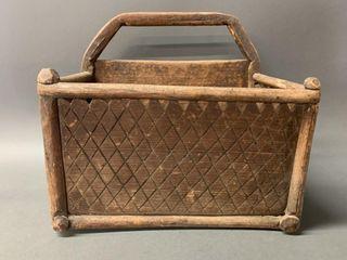 Native American Handled Gathering Box