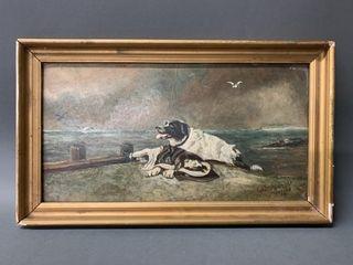 Original John T Plowright 1914 Painting