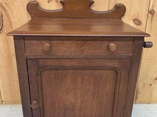 Fine Antique Single Door Washstand
