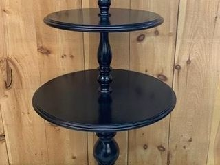Fine 3 Tired Pedestal Merchant Display Table